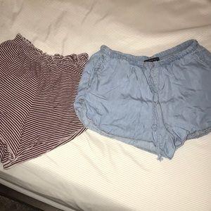 Brandy Melville Fabric Shorts